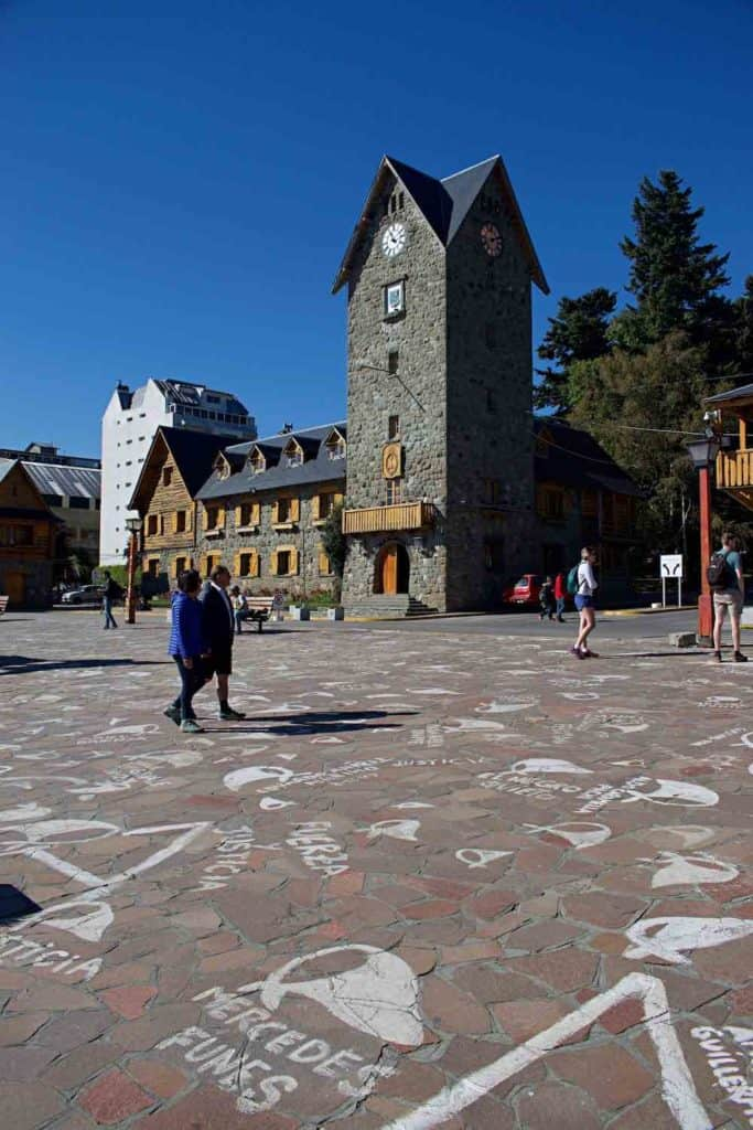 Bariloche main square