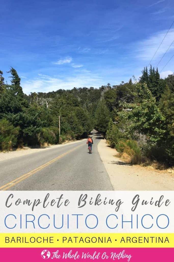 Circuito Oregon : Cycling circuito chico bariloche complete guide the whole world
