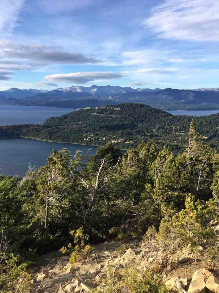 View from Cerro Campanario Bariloche