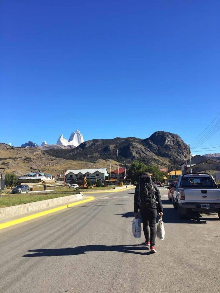 how to get to el chalten by bus