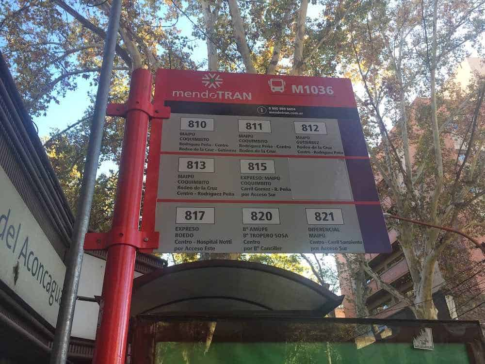 Coquimbito bus timetable