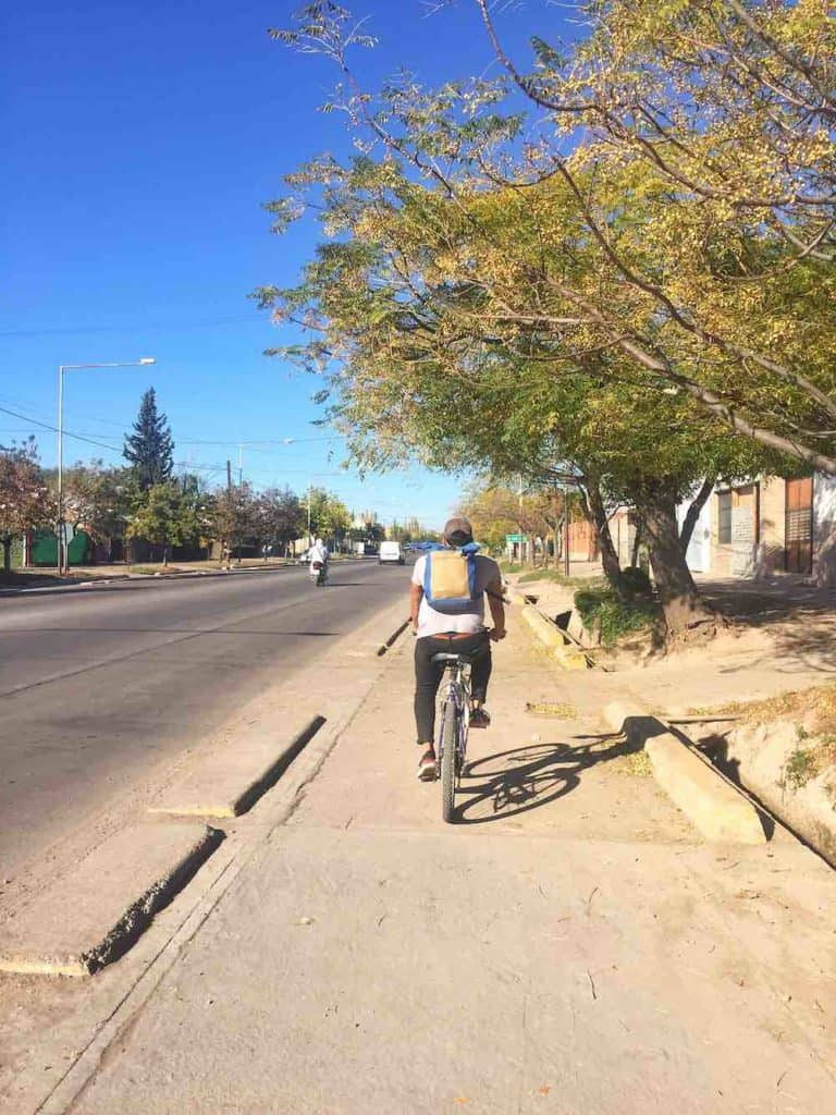 Mendoza Wineries by Bike Safety