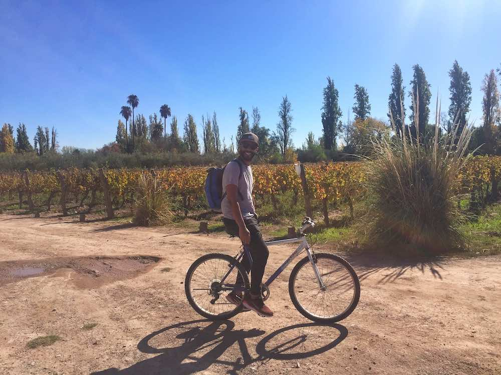 Self Guided Mendoza Wine Bike Tour