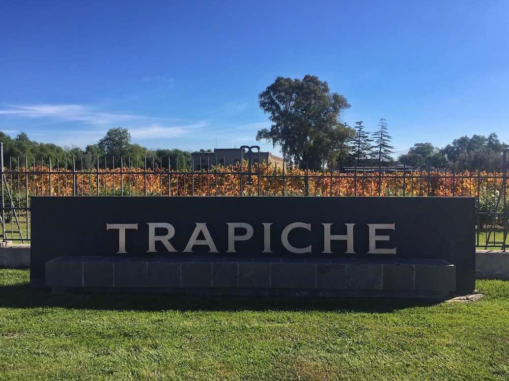 Trapiche Bodega Sign Mendoza
