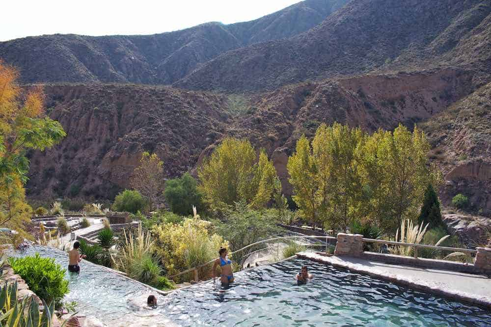 Cacheuta thermal baths
