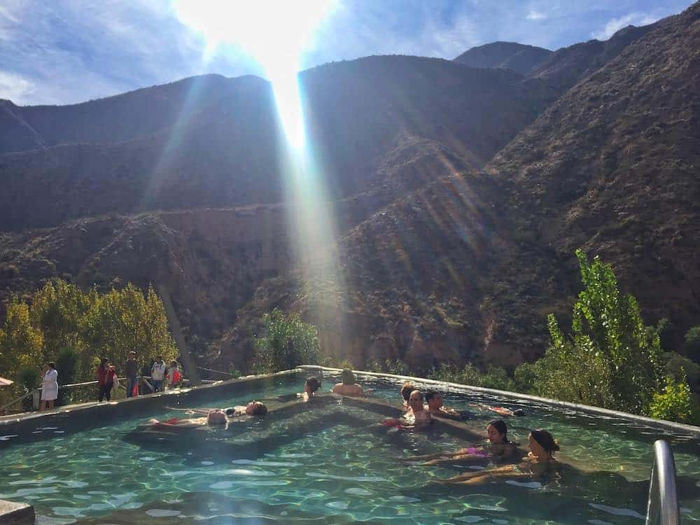 hot springs mendoza weather