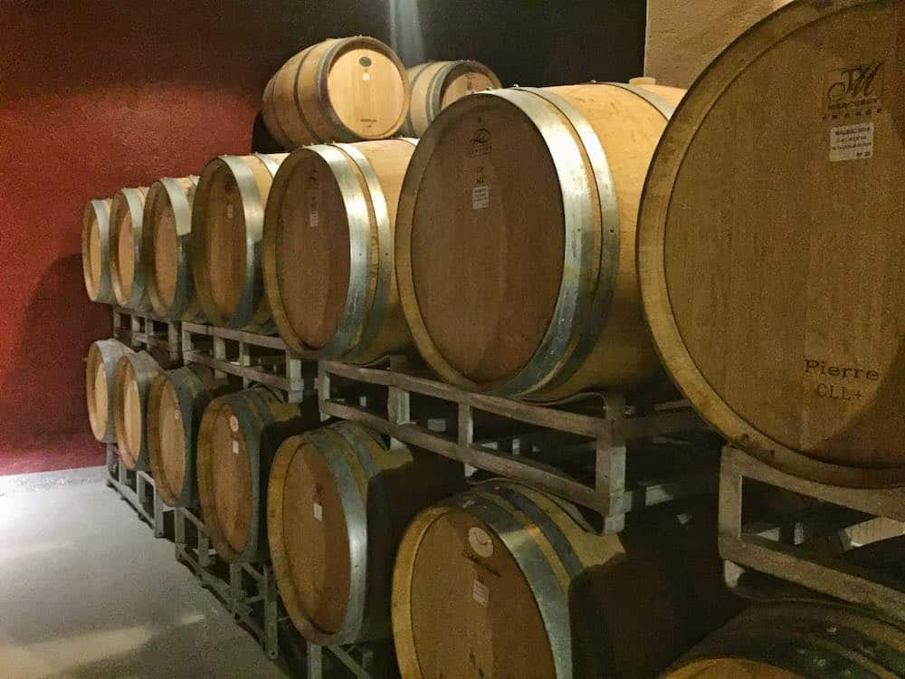 mendoza wineries cellar