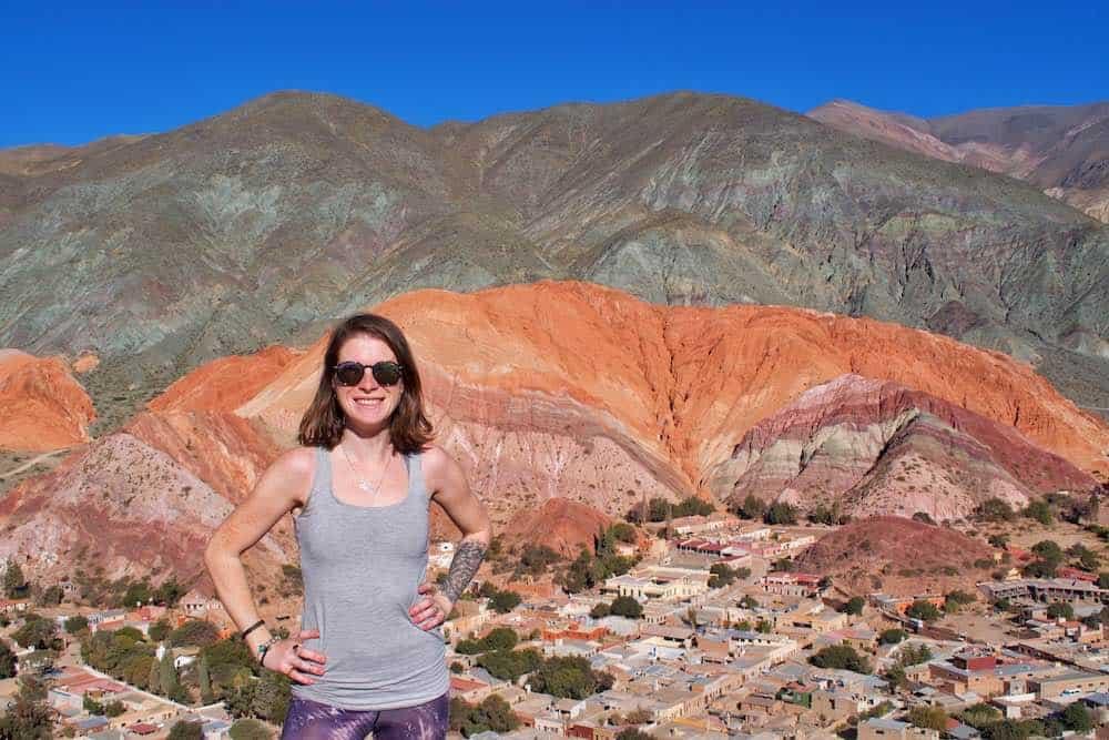 Best view of cerro de los 7 colores