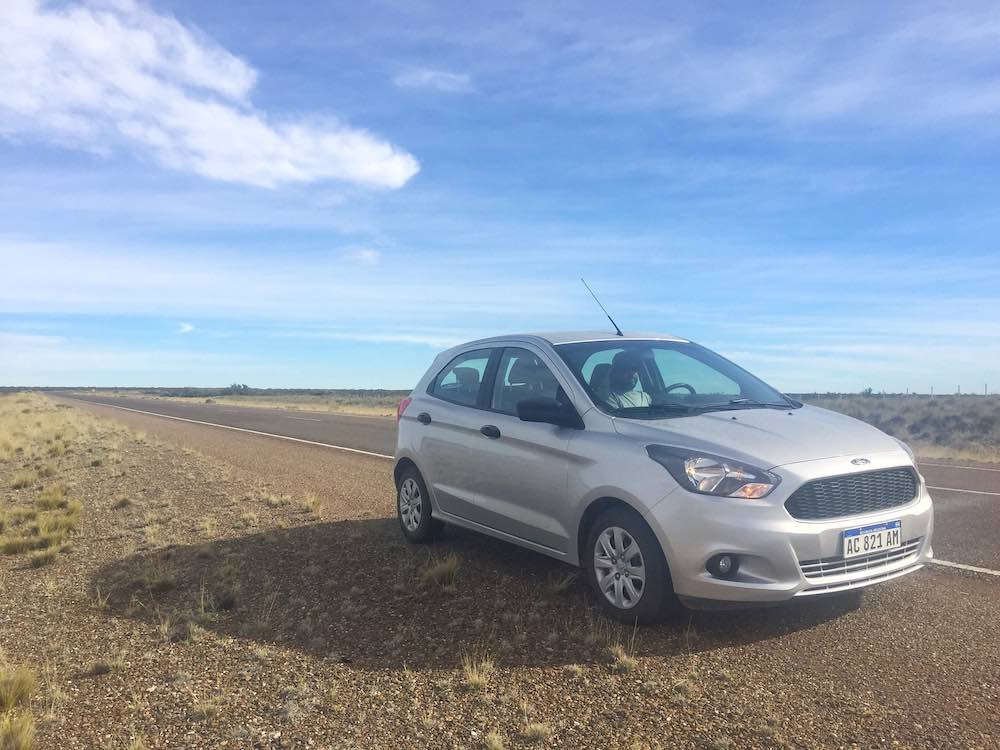 Hiring a Car in Puerto Madryn