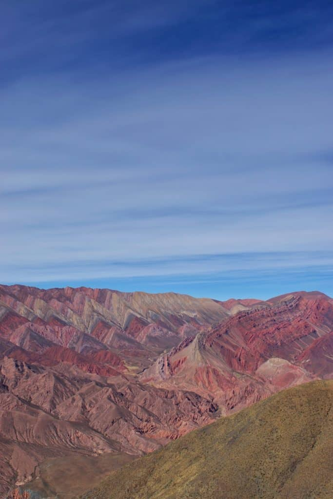 Hornocal Mountains Humahuaca Jujuy Argentina