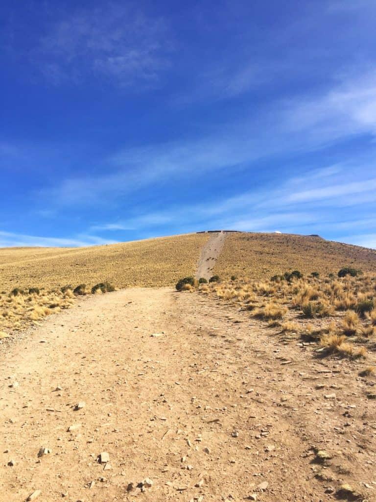 Altitude sickness Cerro Hornocal
