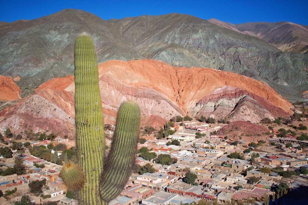 cerro de los 7 colores purmamarca