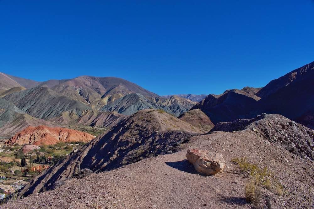 cerro de los siete colores hiking