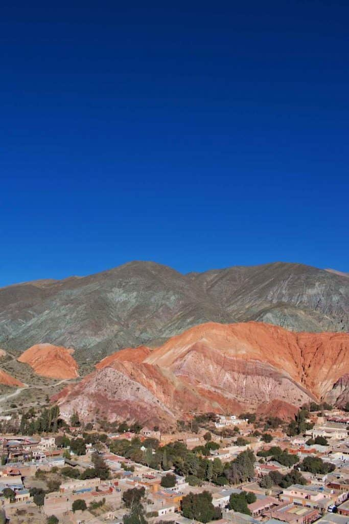 hill of seven colours jujuy argentina