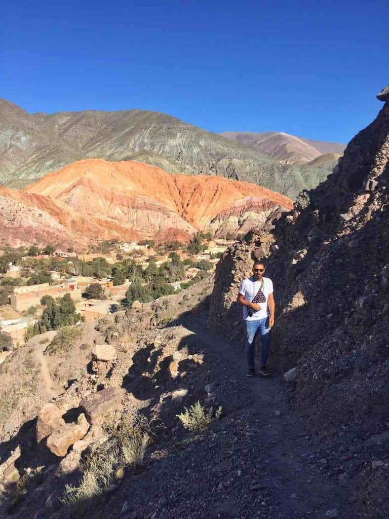 how to visit the hill of seven colours Jujuy