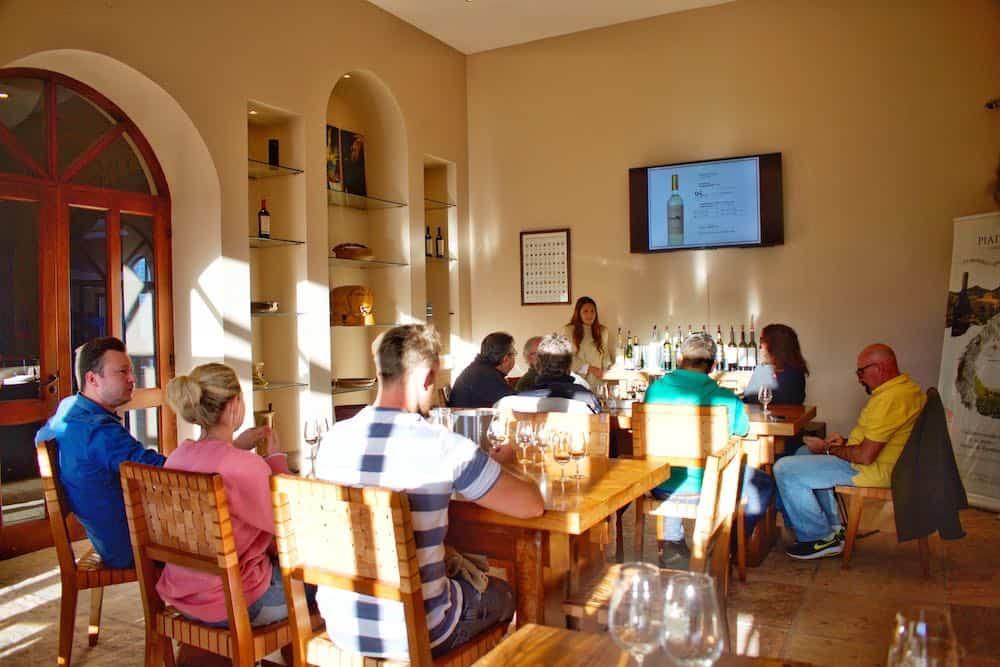 Cafayate wine tasting at Bodega Piattelli