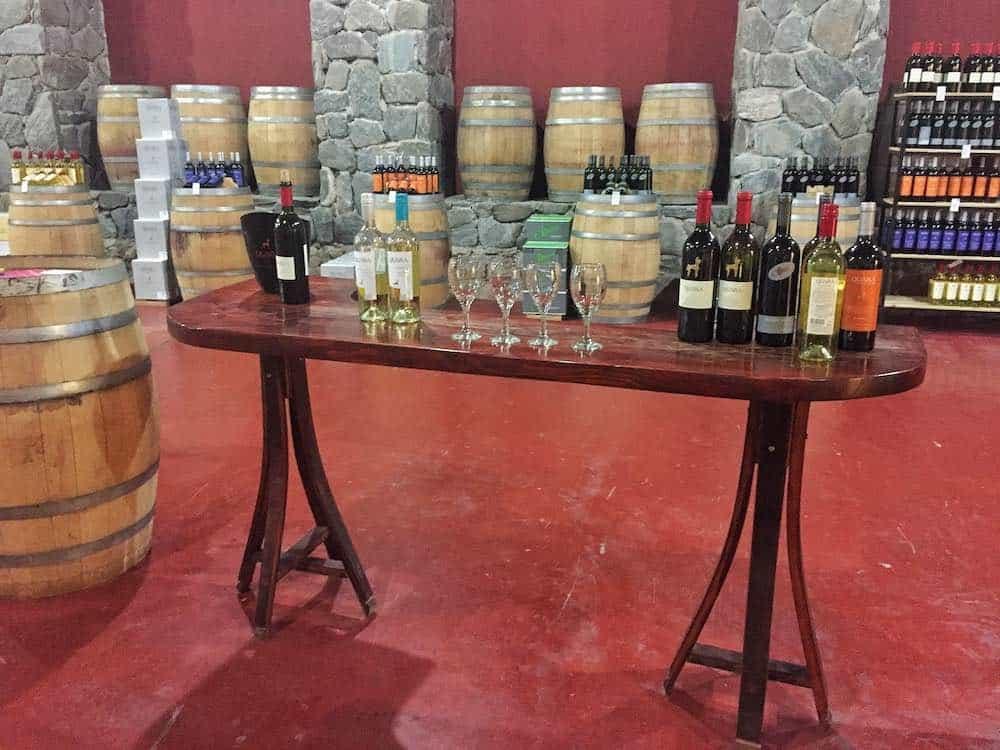 Cafayate wine tasting