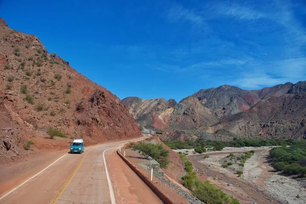 Quebrada de las Conchas Salta Argentina