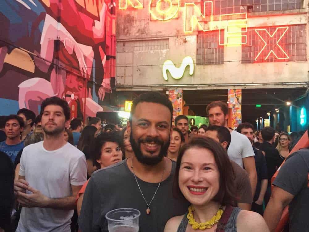 At Cuidad Konex Cultural Buens Aires