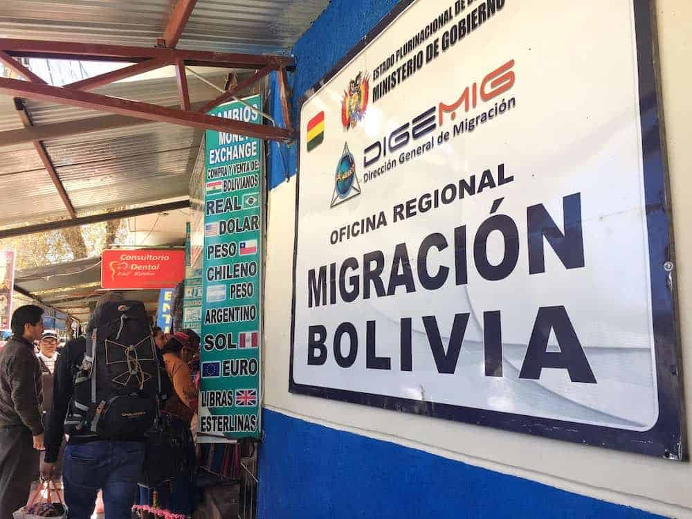 Bolivian Immigration in Villazon