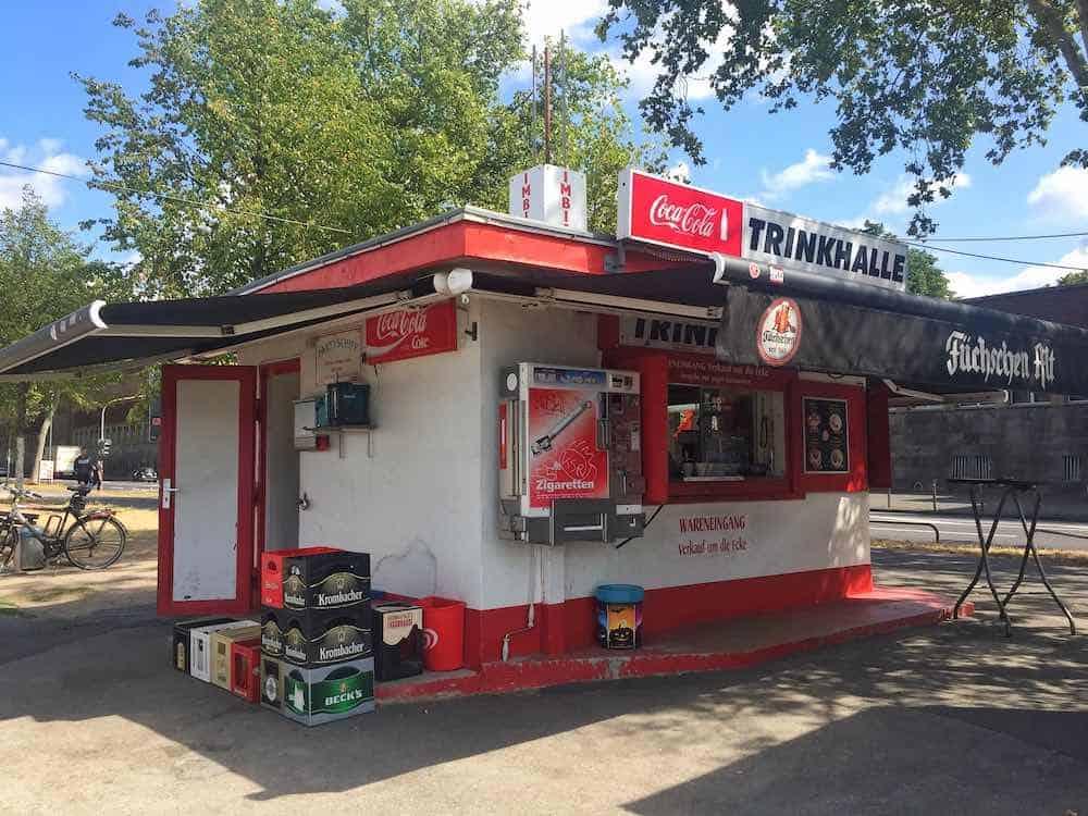 Fortuna Büdchen Kiosk Dusseldorf