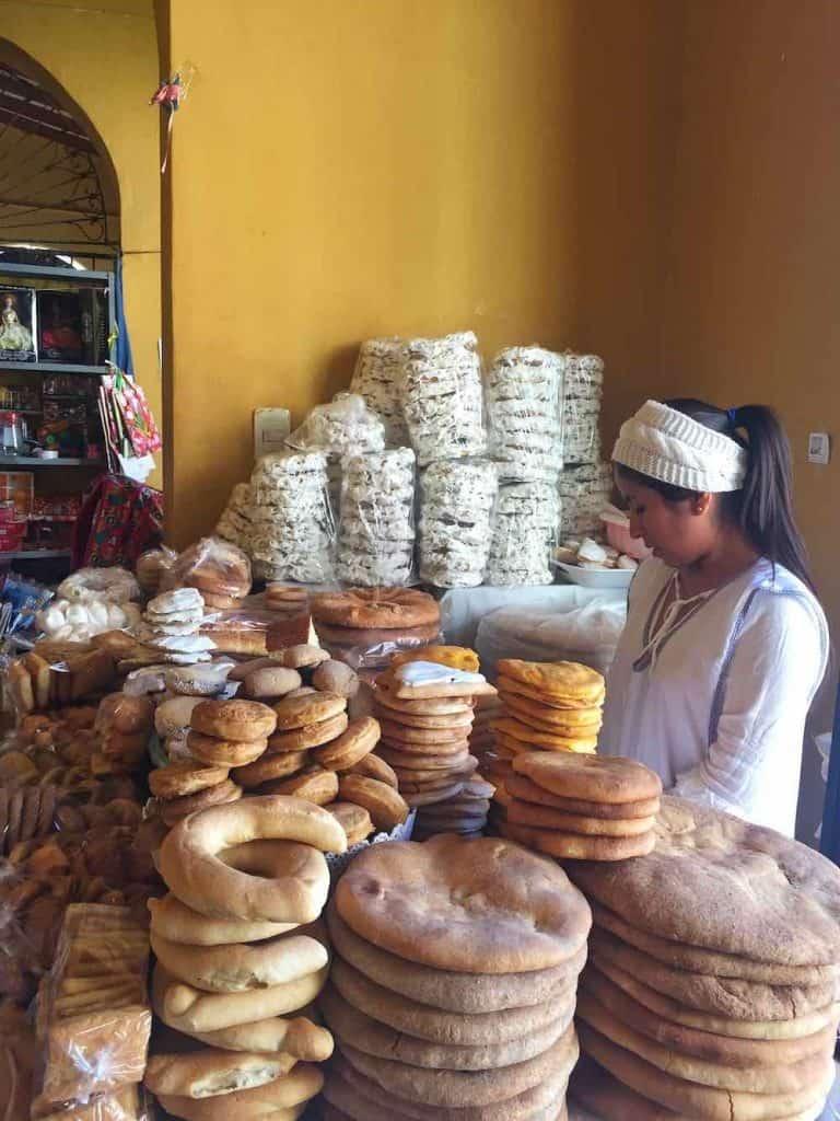 Marketplace San Lorenzo Tarija Bolivia
