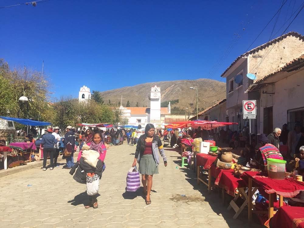 Tarabuco Market Main Square