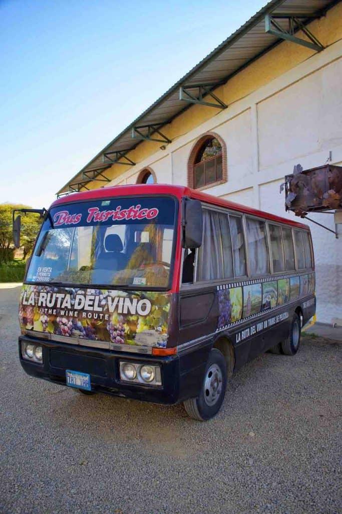 Tarija Wine Tour Bus