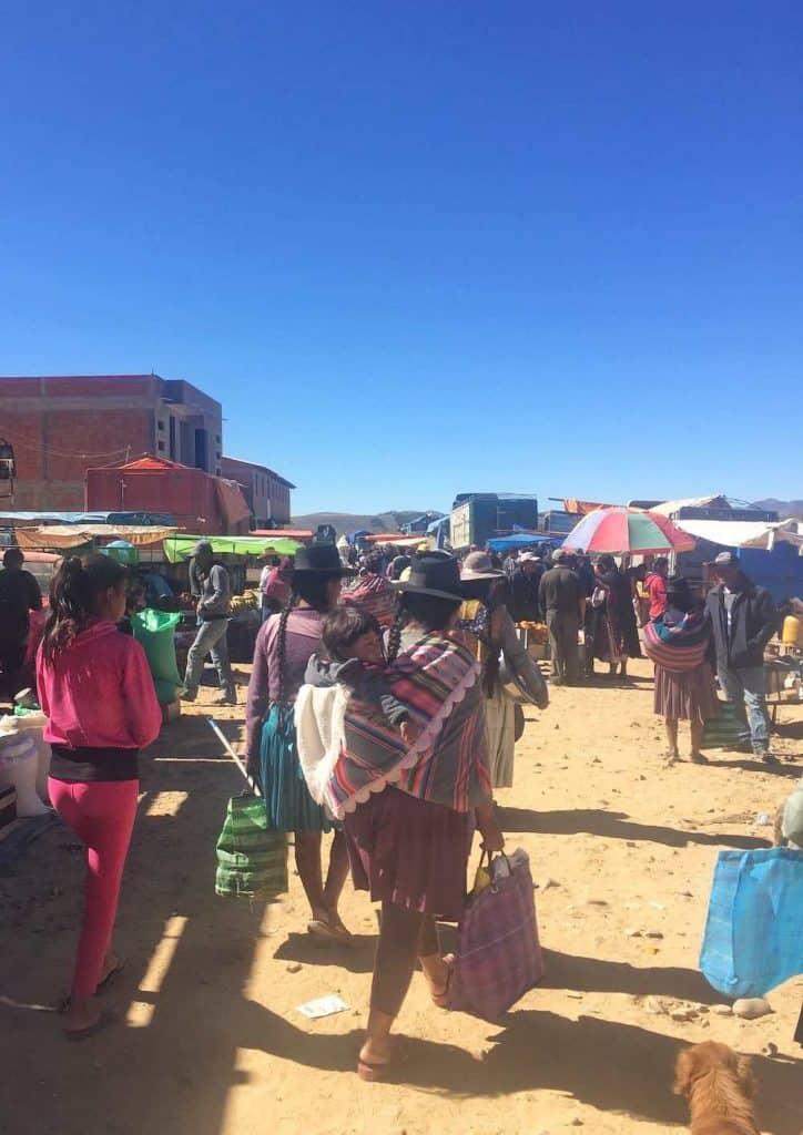 Traditional Market Sucre Bolivia