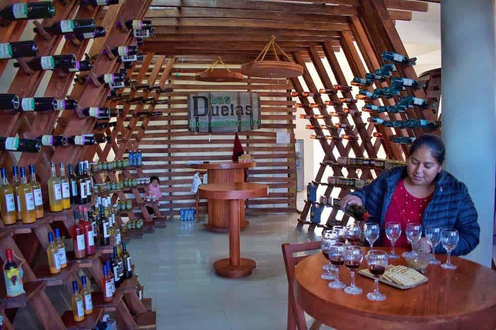 Wine Tasting Tarija Bolivia