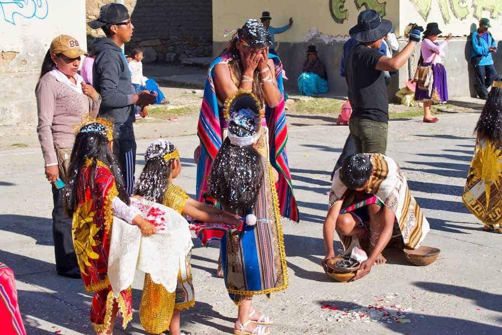 Aymara celebration Bolivia