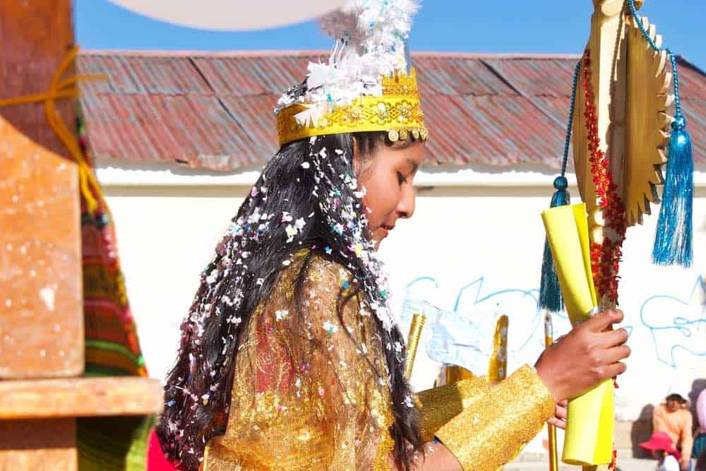 Aymara girl Bolivia