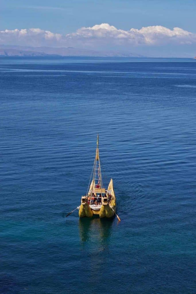Dragon boat Isla del Sol Bolivia