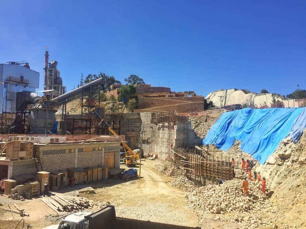 Fancesa cement factory Sucre