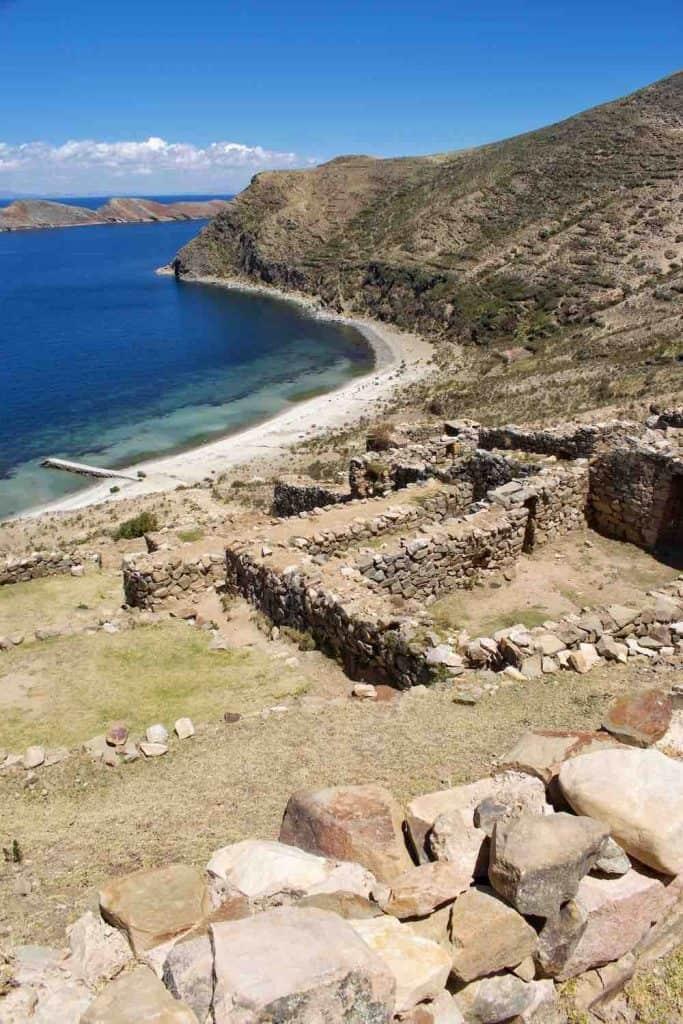 Inca Ruins Isla del Sol North