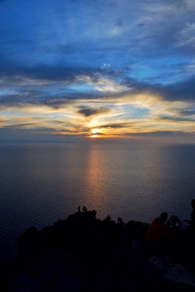 Sunset from Cerro Calvario