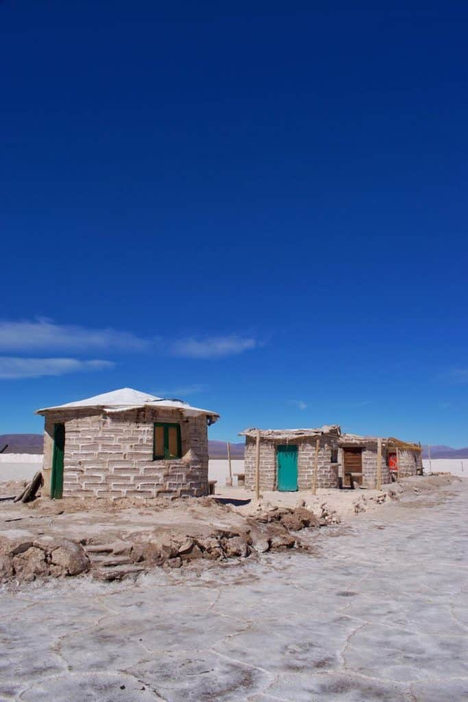 Facilities at Salinas Grandes Jujuy
