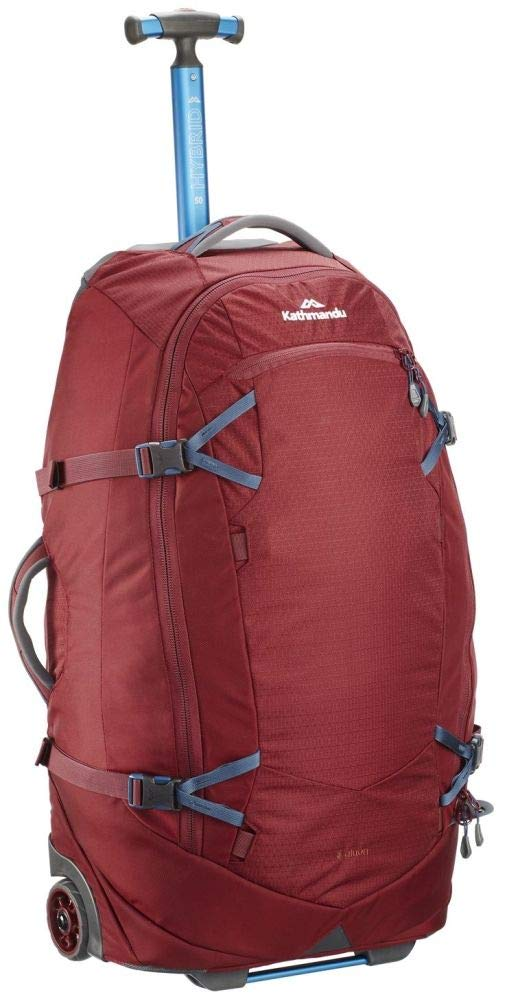 Best Mid-Sized Trolley Backpack With Wheels Kathmandu Hybrid Trolley 50L