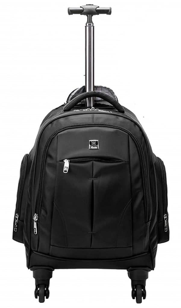 Racini Business Backpack Best Travel Backpack With Wheels for Business Travellers