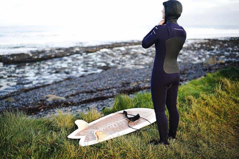 Surfing Easkey Beach Sligo