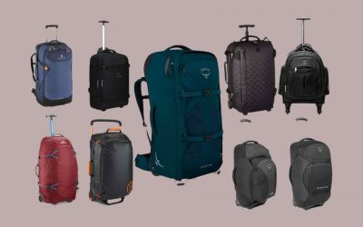 Travel Backpack With Wheels Banner