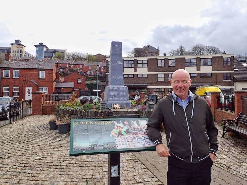 John McKinney Bogside Tour