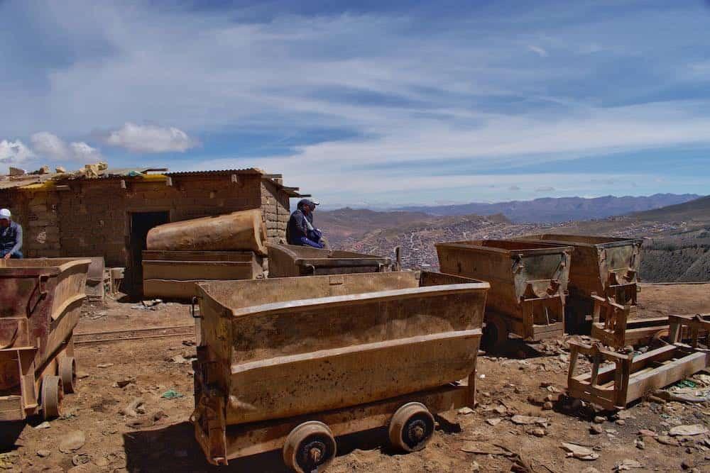 Potosi silver mine history