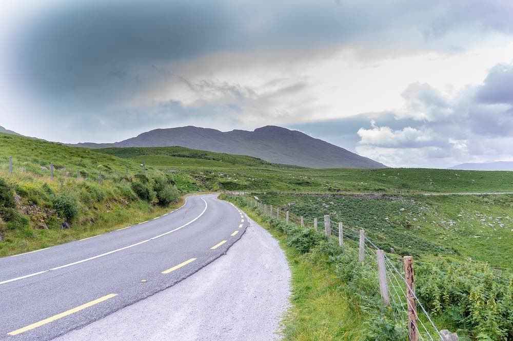Ring of Kerry Ireland road trip route