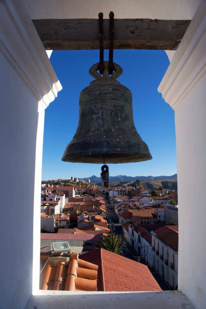 View from Bell Tower Sucre Bolivia