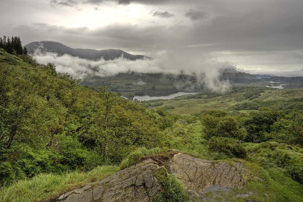 hiking Carrauntoohil Kerry