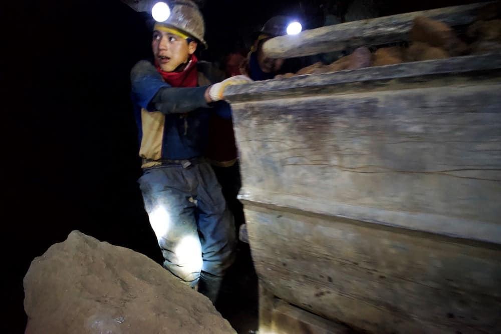 young miner Potosi Bolivia