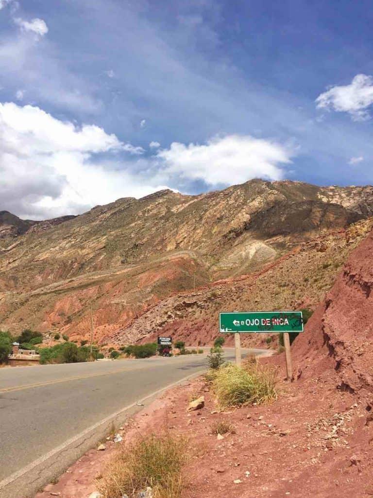 Directions to Ojo del Inca Potosi