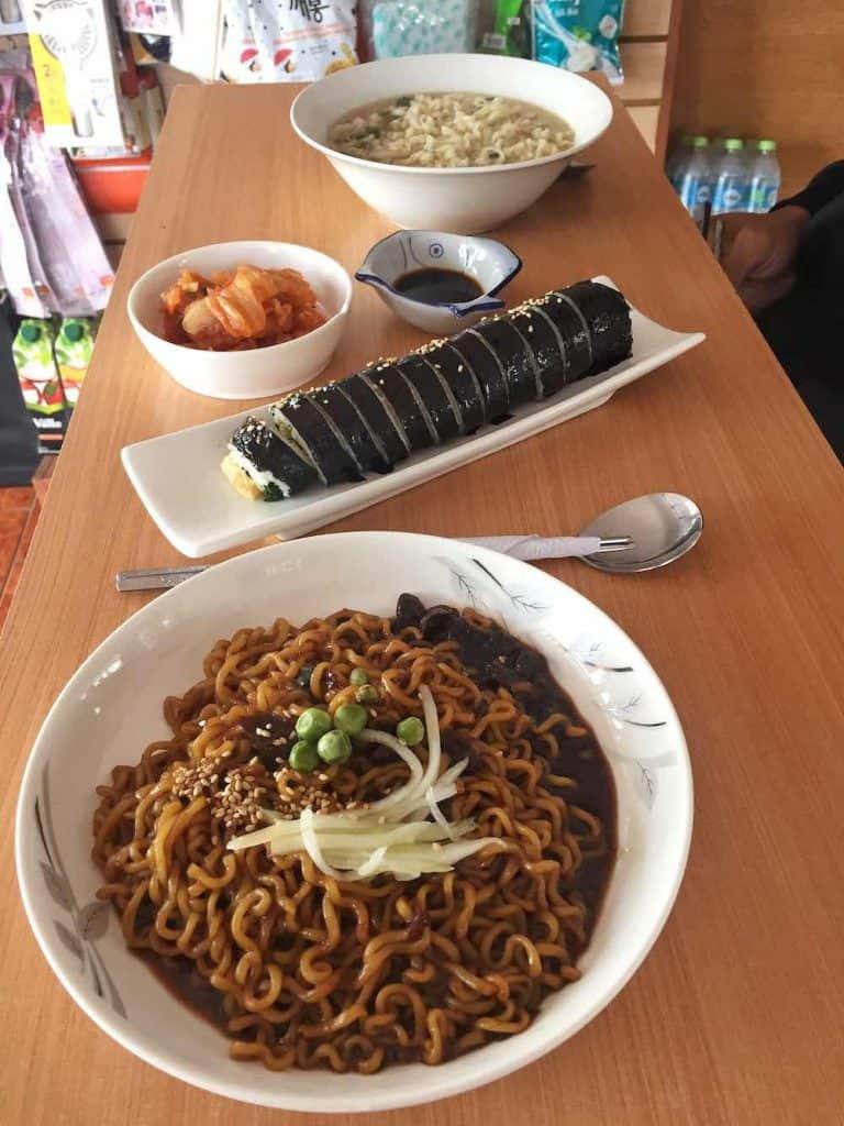 Son Ramyun Korean food Sucre
