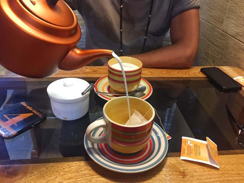 Tea at Cafe Capital